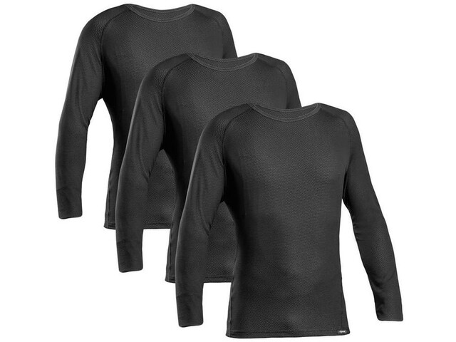 GripGrab Ride Thermal LS Baselayer 3-Pack black